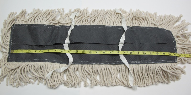 1 Industrial 24 Quot X5 Quot Dust Mop Pad Cotton Yarn Disposable