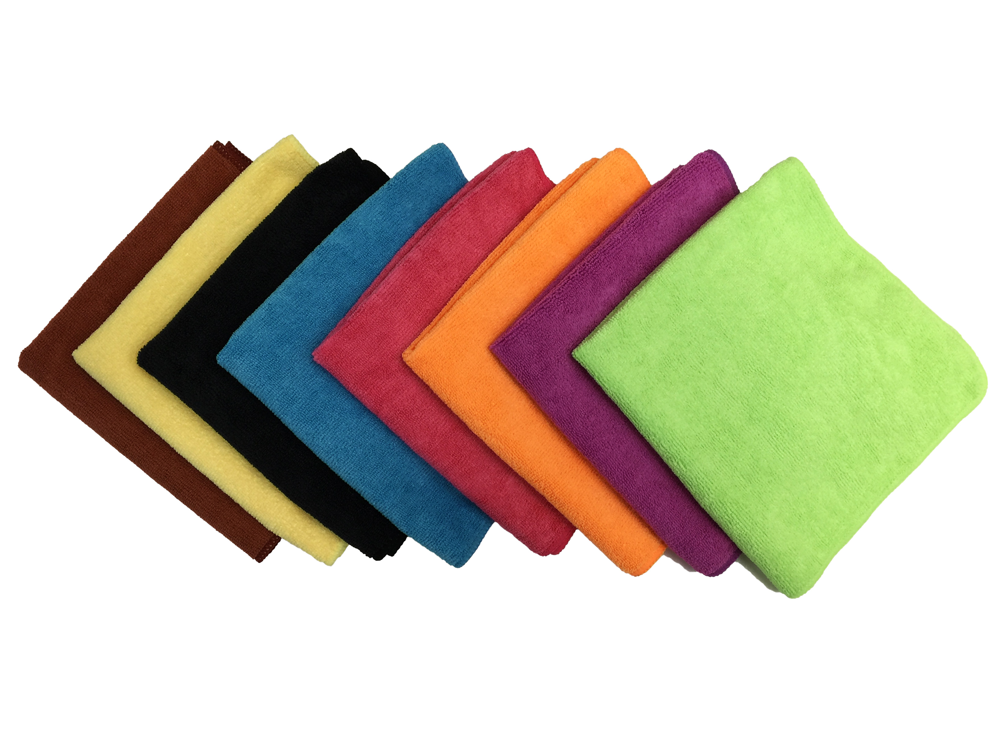 Microfiber Color Coded Cloths Professional 300gsm
