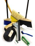 Brushes, Brooms and Gloves