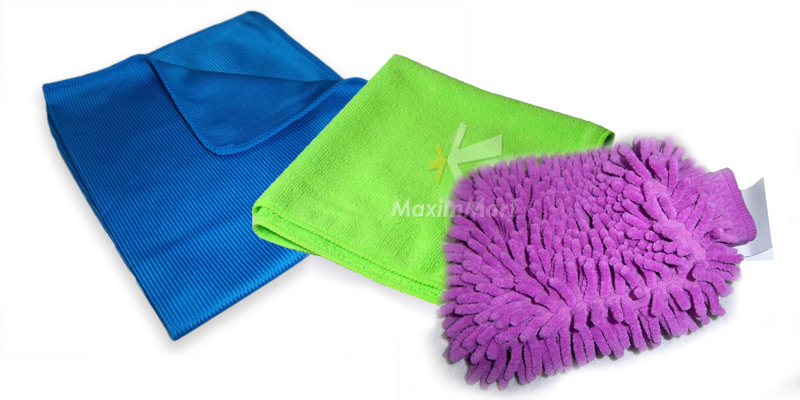 sample of microfiber product